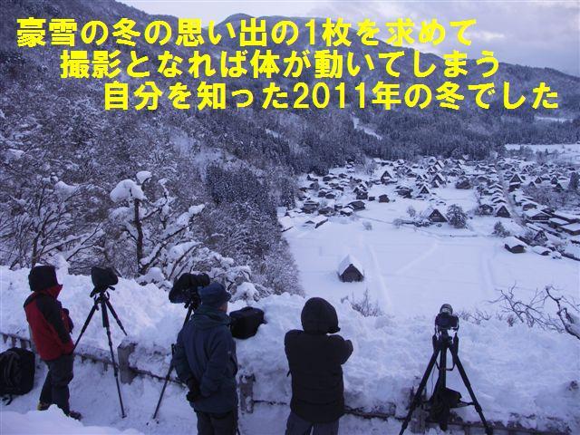 豪雪の冬 (1)