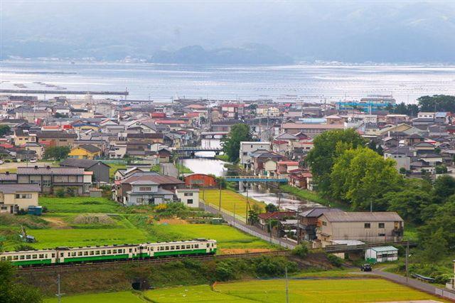 東北地方太平洋沖地震前の綺麗な景観