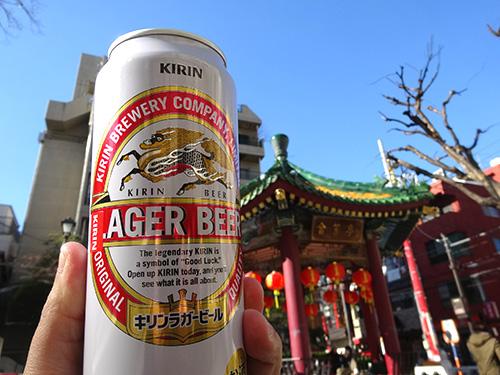 10キリンラガービール500ml