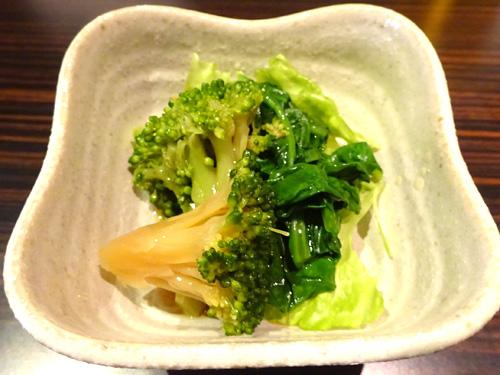 03ブロッコリ醤油漬小松菜おひたし
