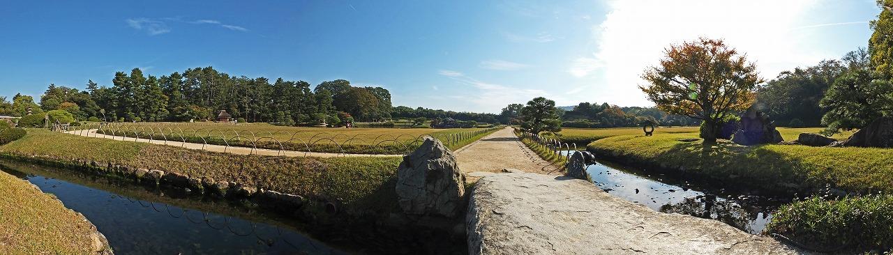 s-20141029 後楽園園内を子供目線で見た今日のワイド風景 (1)