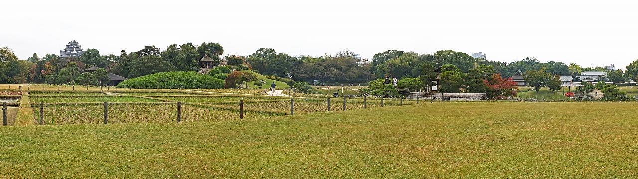s-20141031 後楽園今日の園内井田の様子ワイド風景 (1)