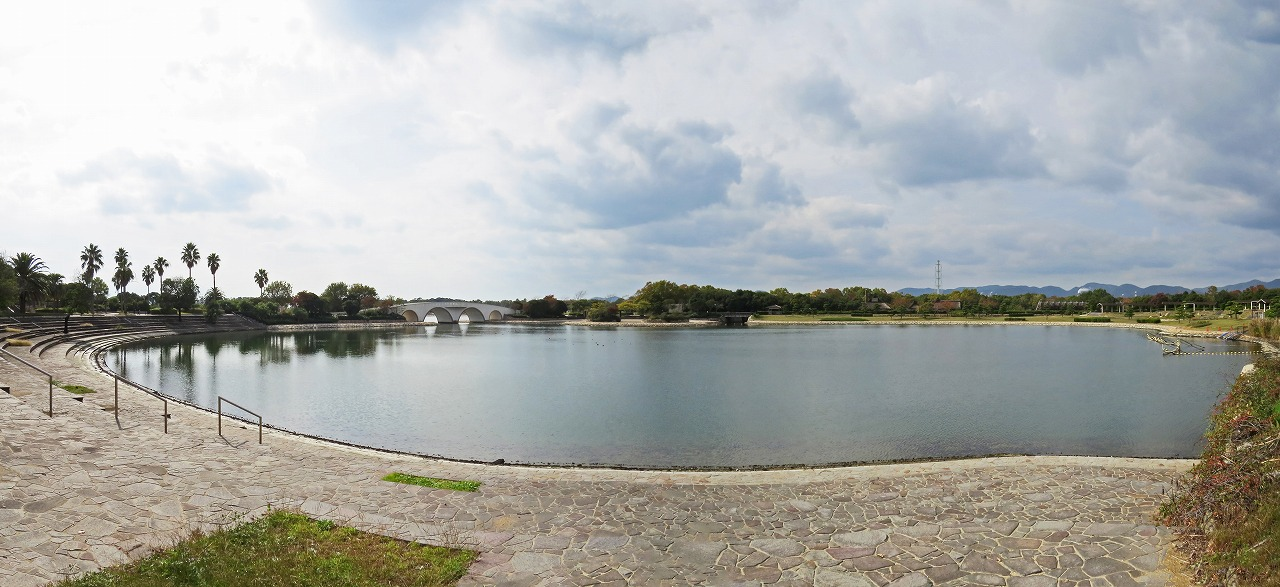 s-20141110 健やかウオーキング赤穂海浜公園の様子ワイド風景 (1)
