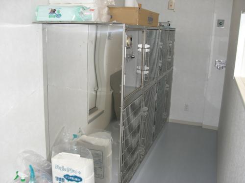 犬入院室 縮小版
