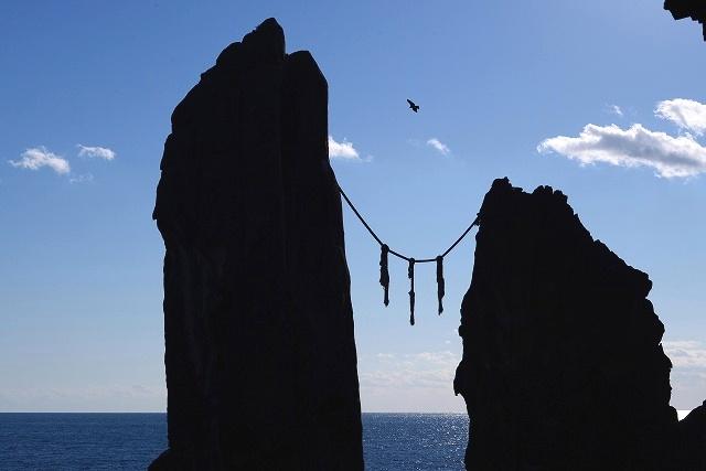 鹿岡の夫婦岩5