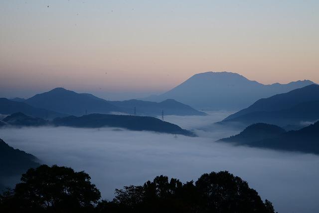 明智峠の雲海2
