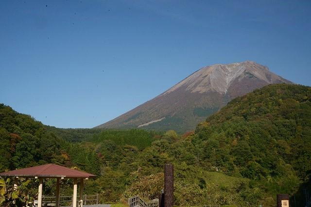 福兼天望台から見た大山