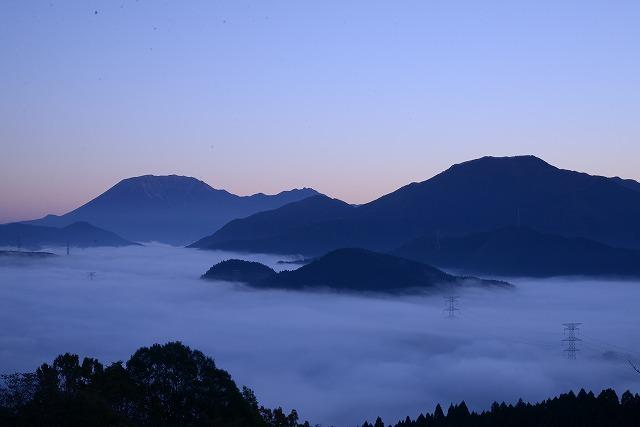 明智峠の雲海1