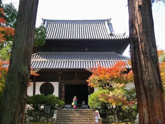 宝福寺の紅葉2