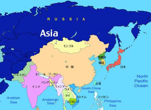 日本と中国・韓国との関係