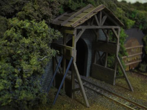 鉄道トンネル スノーシェッド1