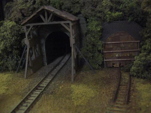 鉄道トンネル スノーシェッド2
