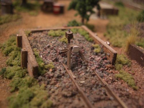 鉄道車止め Nゲージ 3
