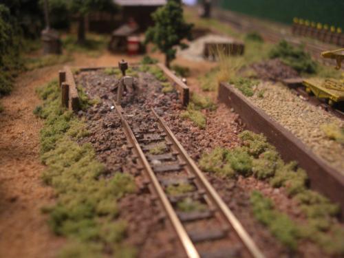 鉄道車止め Nゲージ1