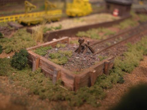 鉄道車止め Nゲージ 2
