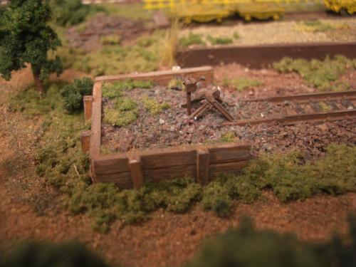 鉄道車止め Nゲージ 4