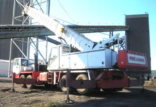 FMC Link-Belt HTC-25 Truck Crane