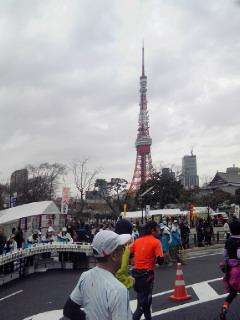 折り返し東京タワー