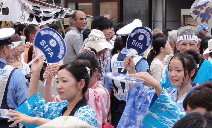 七夕祭り 阿波踊り 2