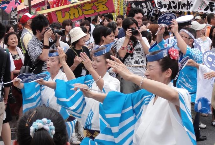 七夕祭 阿波踊り 5