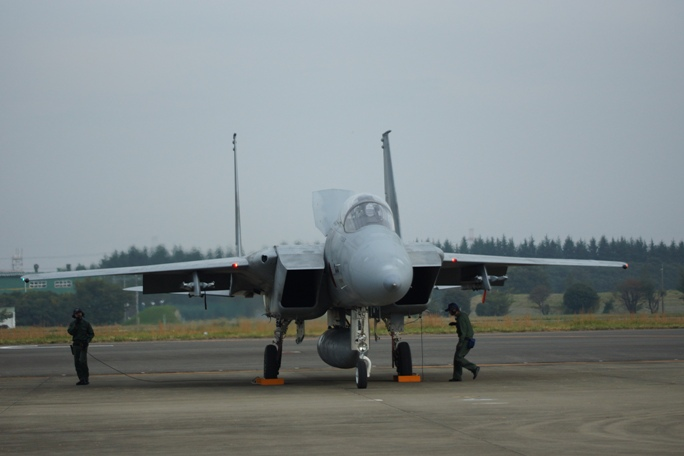 イーグル F15J 整備中