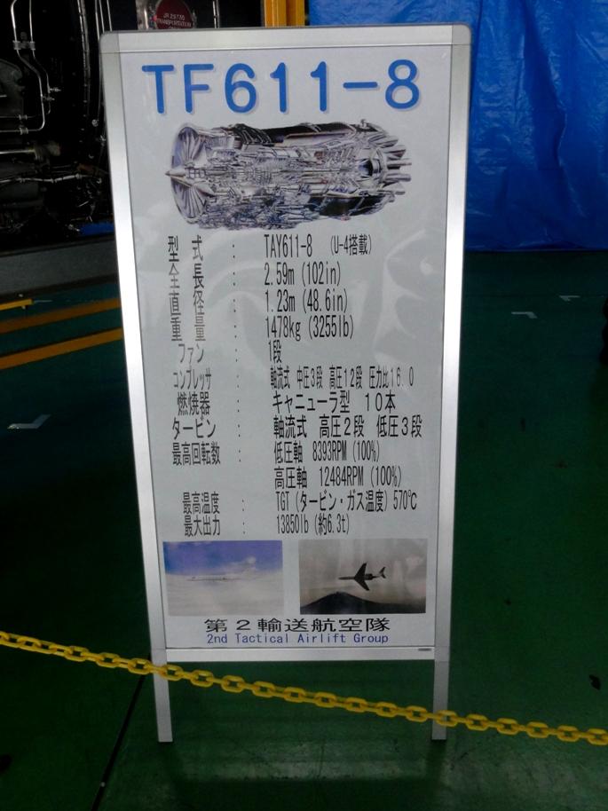 エンジン TF611-8