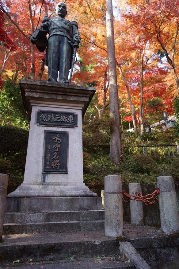 東郷元帥銅像 20131124A