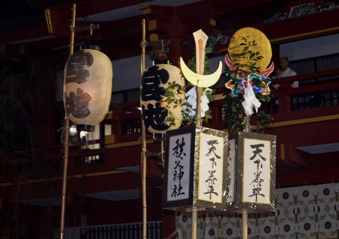 秩父夜祭 2013 神社A