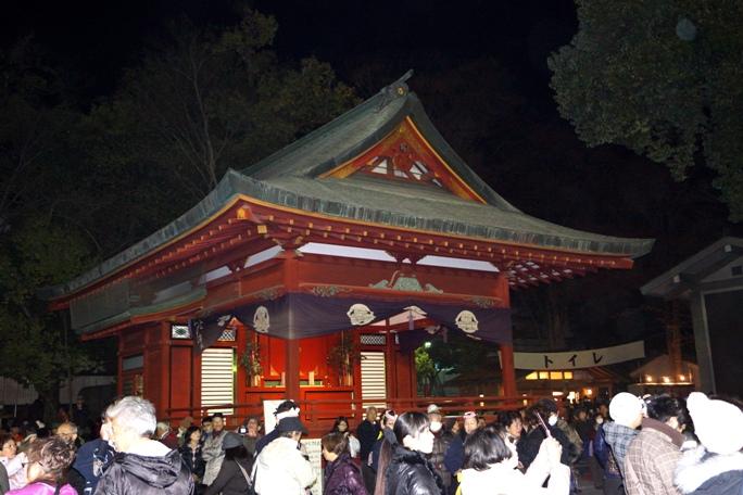 秩父夜祭 2013 神社-2A