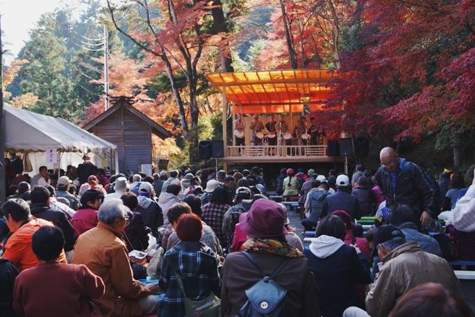 秩父御嶽神社 紅葉まつり-20131124A