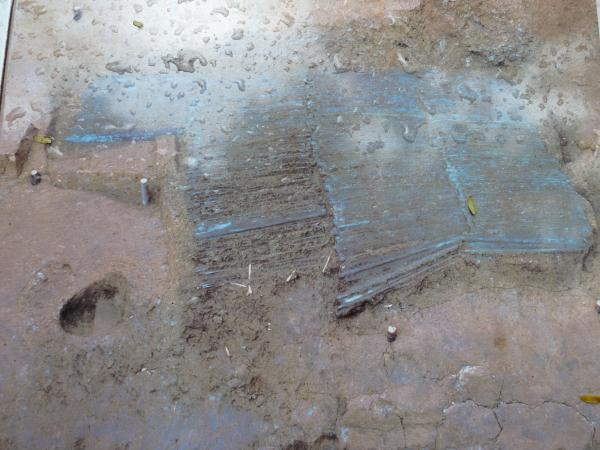 銅剣発掘現場5