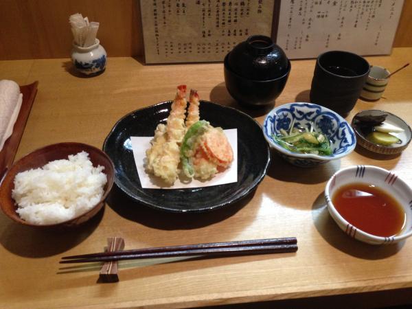 天ぷら定食4