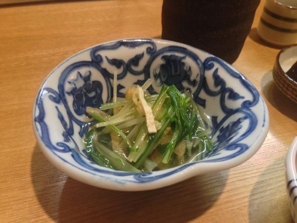 水菜の小鉢6