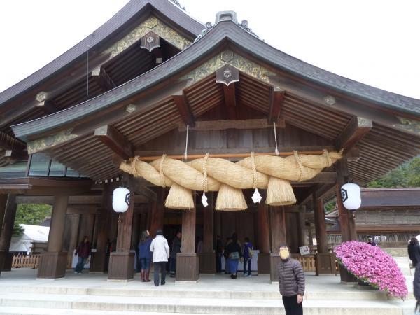 出雲大社拝殿8