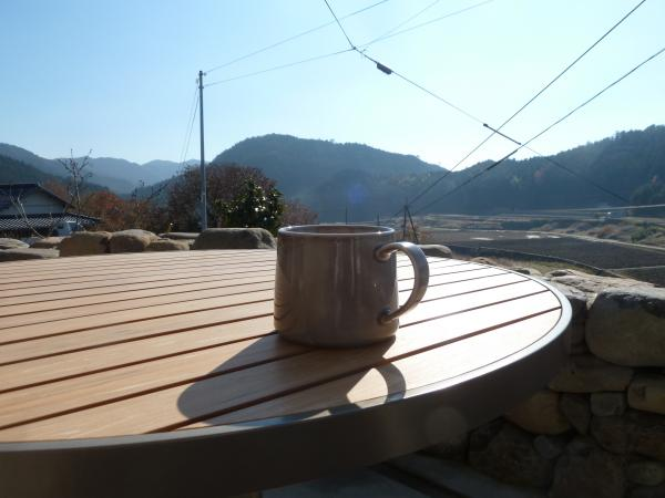 外コーヒー3