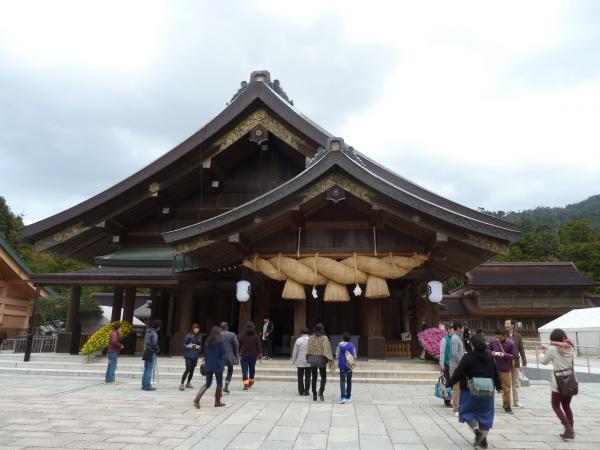 出雲大社社拝殿7