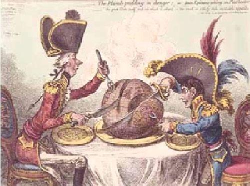 ギルレイ ナポレオンとピット