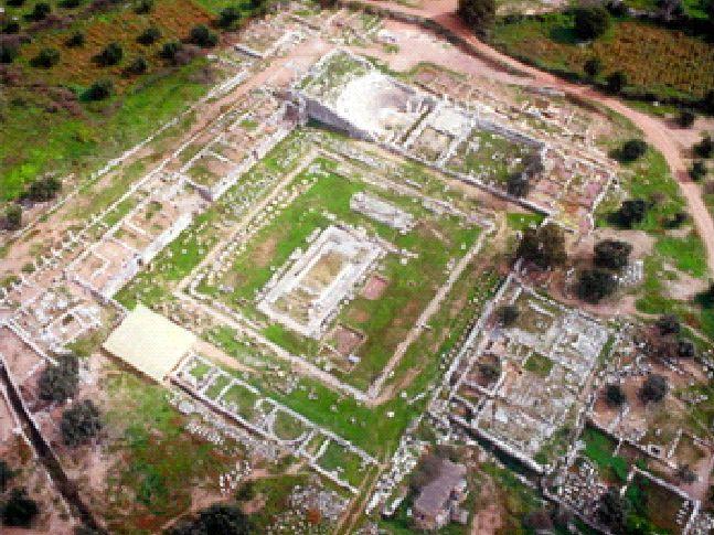 メッセニアのアルテミス神殿遺跡