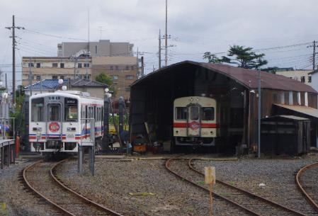 竜ヶ崎駅 車両基地