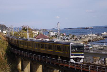 209系 山生橋梁