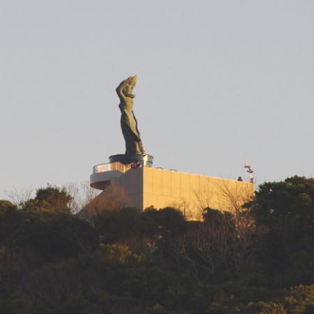鴨川 魚見塚展望台