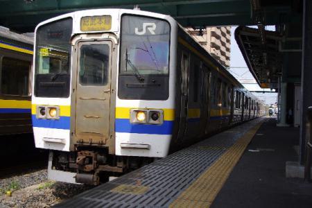 総武本線 211系