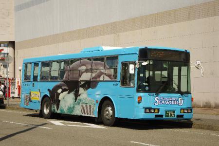 鴨川シーワールド バス