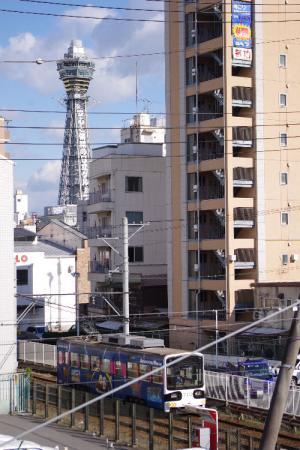 阪堺線 通天閣