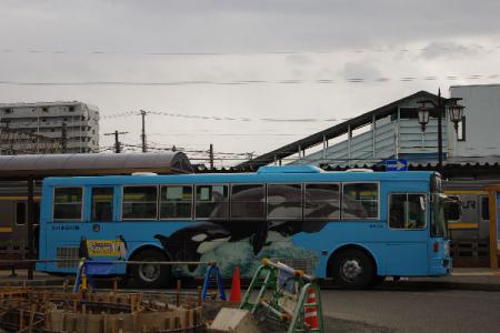 鴨川シーワールドバス&209系
