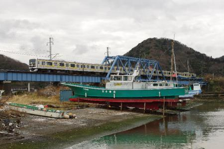 湊川橋梁 209系