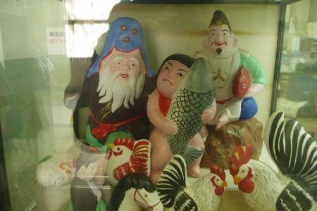 信州中野 土人形