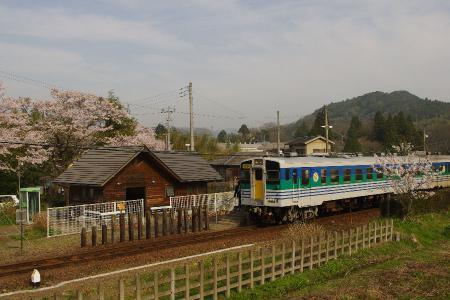 上総松丘駅 キハ37