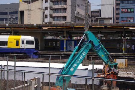 千葉駅 255系