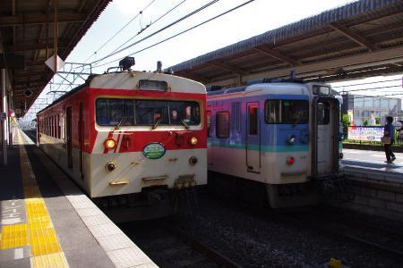 115系&ミニエコー123系